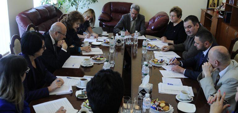 Встреча с Верховным комиссаром ОБСЕ по делам национальных меньшинств