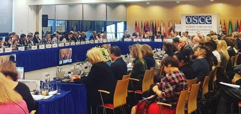 Совещание ОБСЕ по правам человека в Варшаве