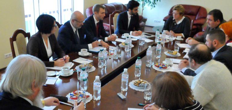 Встреча с Верховным комиссаром ОБСЕ